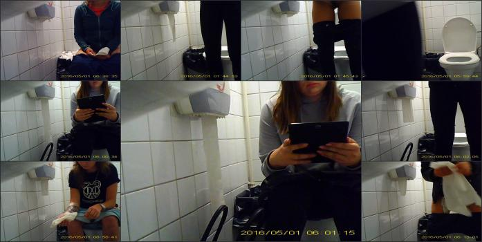 girls pee in the toilet-10 (new)