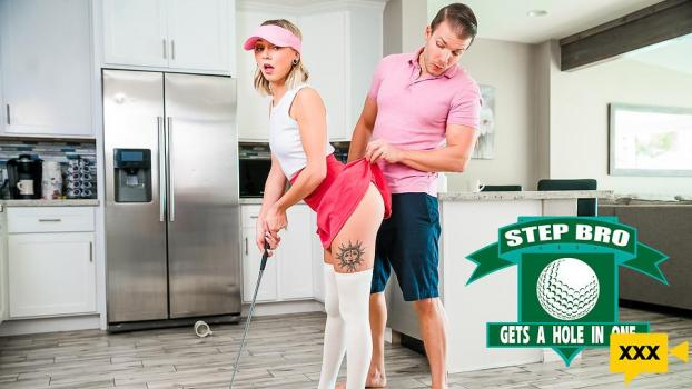 Step Siblings Caught – Chloe Temple: Step Bro Gets A Hole In One (2021/FULLHD)