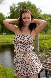 Rosalin e nude
