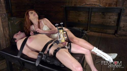 Lacy Lennon - Edging Machine Experiments - 1080p