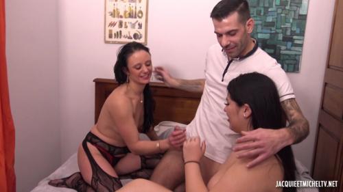 Gloria & Angelina - Gloria Discovers The Devil Angelina! - 1080p