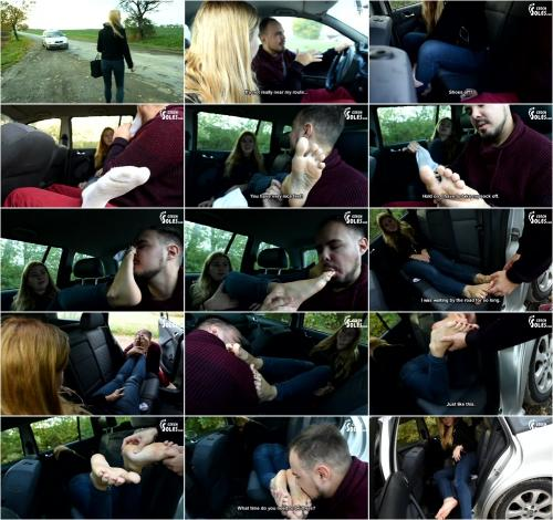 (Young hitchhiker gets a ride for her BIG sexy feet)  of (Czech Soles) studio [FullHD 1080P]