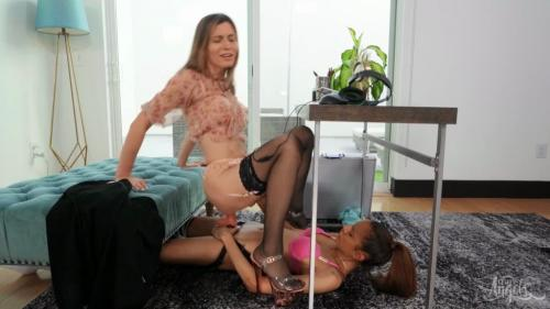 Korra Del Rio & Kylie Le Beau - Fucked And Hired - 1080p