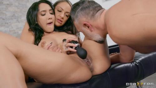 Sofi Ryan, Chloe Amour - A Threesome By The Fire - 1080p
