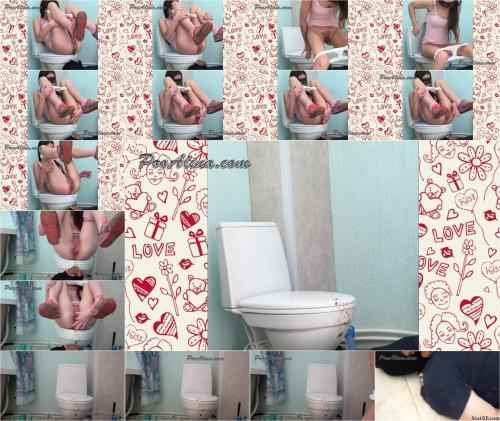 Liquid Acidity Crap With Fart In Mouth Of A Toilet Slave   720p