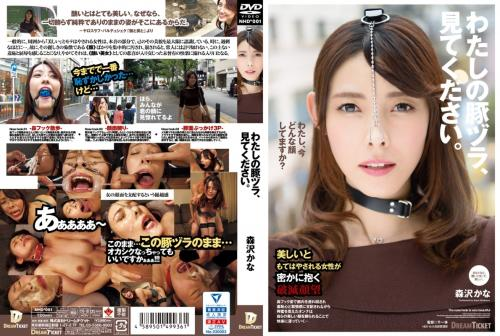 [NHD-001] わたしの豚ヅラ、見てください。 森沢かな (Iioka Kanako) Dream Ticket  2019/11/01