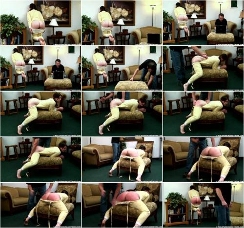 Reverie - Reverie in scene Cornertime and Spanking in drop seat PJ's [HD 720p]