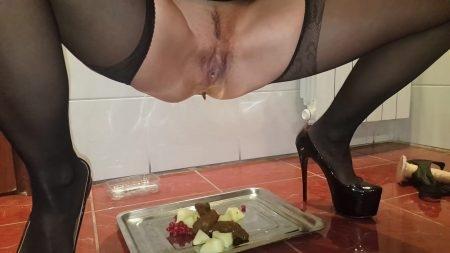 Antonella – Tasty Dessert For You! Redberry & Melon With Kaviar